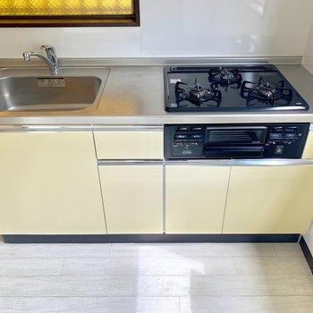 キッチン設備、充実◎