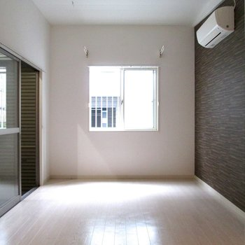白を基調にしたお部屋です。※写真は前回募集時のものです