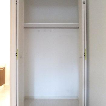 収納もシンプルで2段になってます。※写真は前回募集時のものです