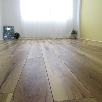 ほらこの床です!