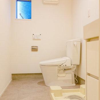 脱衣所にはトイレもありました。※写真は前回募集時のものです