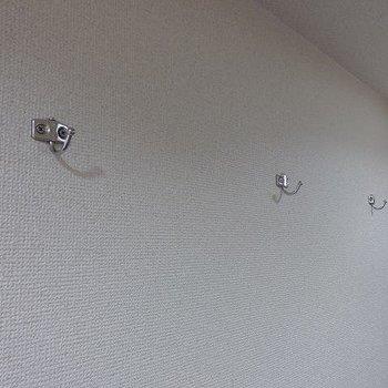 こういう小さい工夫がいい※写真は3階の同間取り別部屋のものです