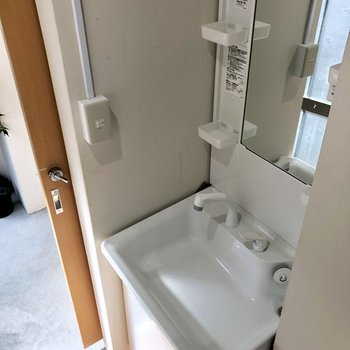 【1階】でも洗面台しっかり!