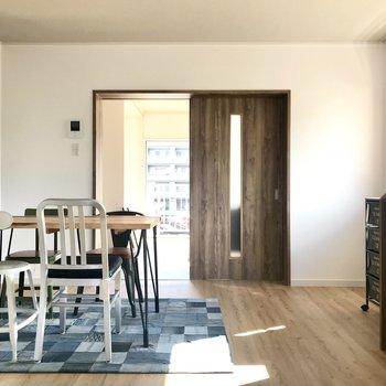 可愛い家具もヴィンテージちっくな家具も似合うの。 (※写真の家具は見本です)