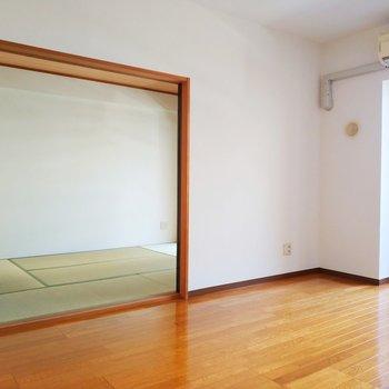 和室も見ていきましょう〜!※写真は2階の同間取り別部屋のものです