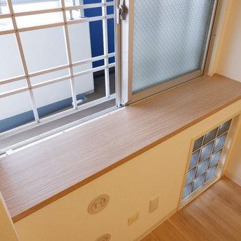 【洋室】このスペースもインテリアで彩りたい。