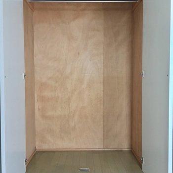 【1階洋室】収納は、意外にも奥行きあり※写真は前回募集時のものです