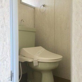 トイレもきちんと個室です〜※写真は前回募集時のものです