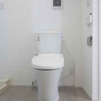 トイレもスッキリ。