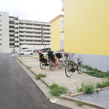 駐輪場や※写真は前回募集時のものです
