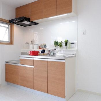 【DK】キッチン横には冷蔵庫を。※写真は前回募集時のものです