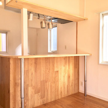 素敵、、、このキッチン。