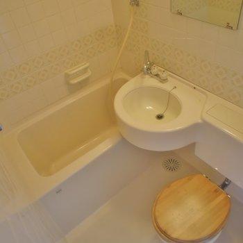 おトイレとお風呂は同室