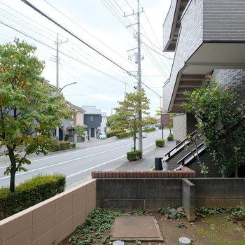 【工事前】1階ですが眺めが開けてますねー!