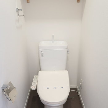 【イメージ】トイレはウォシュレットになります!