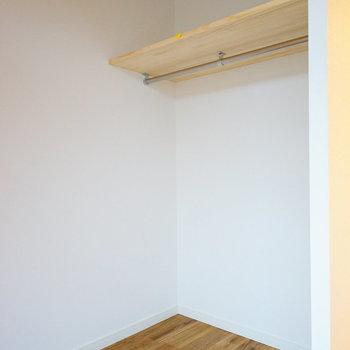 【イメージ】収納は廊下側にオープン収納!