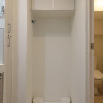サニタリースペースに洗濯機置場がやっぱり使いやすいですね