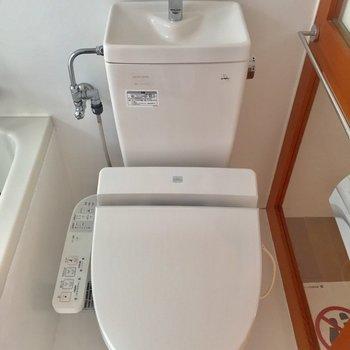 トイレはきれいなウォシュレット!