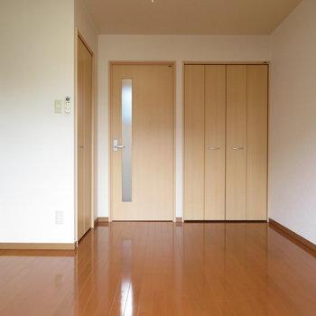 4階は広い洋室