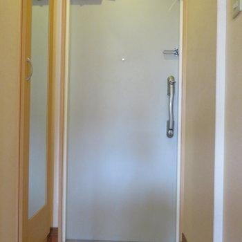 玄関も十分な広さを確保!