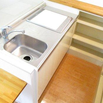 キッチンも広く使いやすそうです。