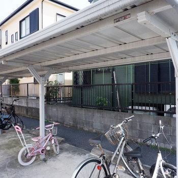 お買い物の際には自転車があると便利なので、駐輪場を活用していきましょう!