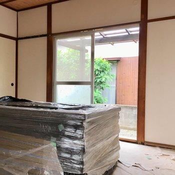 和室の畳の香りも好きなんだな〜※写真は清掃前のものになります。