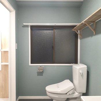 トイレもウォシュレットつき※前回募集時の写真です