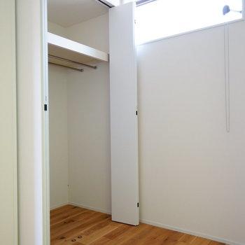 収納もなかなか!※写真は2階の反転間取り別部屋です。