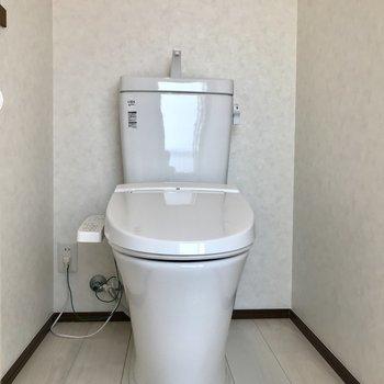 トイレはゆったり広めに!