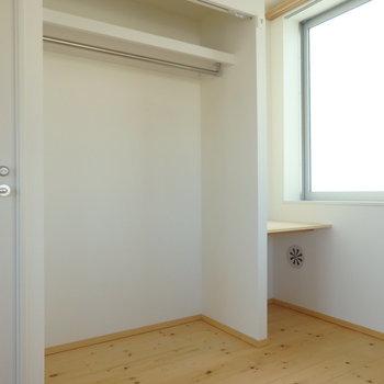 収納もちゃんとあります!※写真は4階の同間取り別部屋のものです