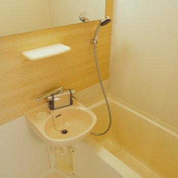 お風呂も水栓を交換して使いやすく!