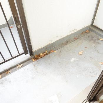 バルコニーの日当たり◎※写真は1階別部屋のものです