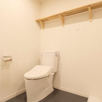 【イメージ】トイレも新品に!ウォシュレット付き!