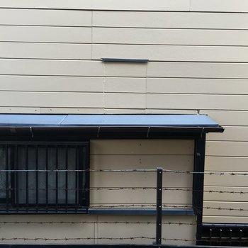 1階なので眺望はちょっと。。。※写真は1階の反転間取りの別部屋です。