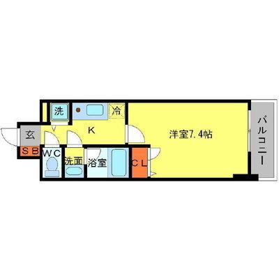 アーバネックス大阪城WESTの間取り図