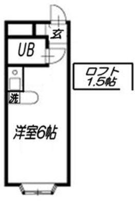 ベルピア津田沼Ⅱ-1 の間取り