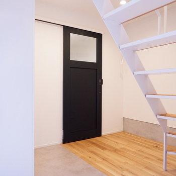 【1階部分】可愛らしい扉の先には。※写真は前回募集時のものです
