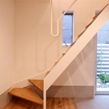 【1階部分】土間と無垢のハーフ。※写真は前回募集時のものです