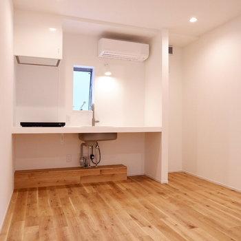 【2階部分】基本的な居住スペースはこちらになります。※写真は前回募集時のものです