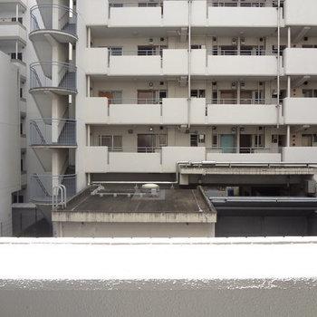 さすが博多。ビルビュー・・・※写真は5階の部屋からの眺望です
