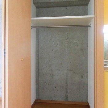 広さのあるクローゼット!※写真は4階の同間取り別部屋のものです