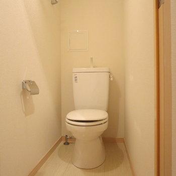 トイレ周りもゆとりがあります