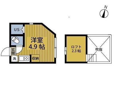 アーバンプレイス東高円寺II(ヒガシコウエンジツー) の間取り