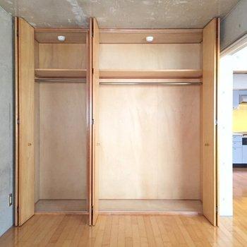 大容量※写真は1階の同間取り別部屋のものです