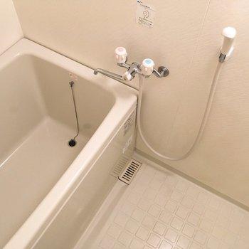 お風呂はちょうどいいサイズかな?