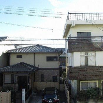 眺望は、のどかな住宅街(2階からの眺望)♪※写真は同じ間取り別部屋