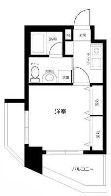 グリフィン横浜・東口弐番館 の間取り