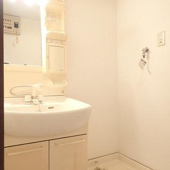 洗面台も使いやすそう!