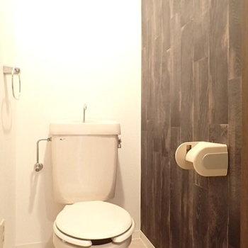 トイレもブルックリンスタイル!